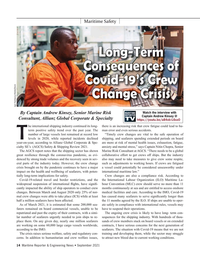 Maritime Reporter Magazine, page 14,  Sep 2021