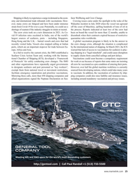 Maritime Reporter Magazine, page 15,  Sep 2021