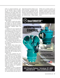 Maritime Reporter Magazine, page 17,  Sep 2021