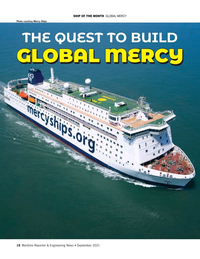 Maritime Reporter Magazine, page 18,  Sep 2021