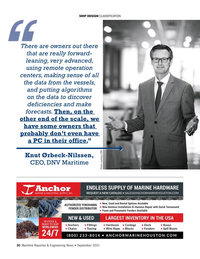 Maritime Reporter Magazine, page 30,  Sep 2021