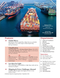 Maritime Reporter Magazine, page 2,  Sep 2021