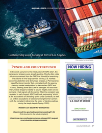 Maritime Reporter Magazine, page 47,  Sep 2021
