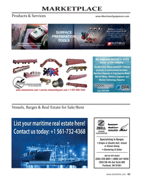 Maritime Reporter Magazine, page 63,  Sep 2021