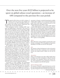 Offshore Energy Reporter Magazine, page 13,  Jan 2015