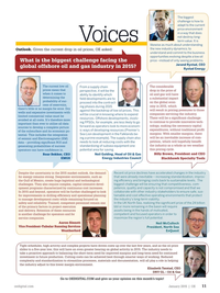 Offshore Engineer Magazine, page 9,  Jan 2015