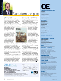Offshore Engineer Magazine, page 10,  Jan 2015