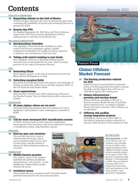 Offshore Engineer Magazine, page 3,  Jan 2015