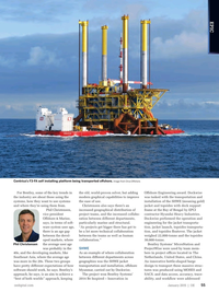 Offshore Engineer Magazine, page 53,  Jan 2015