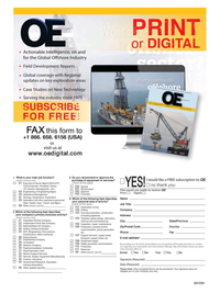 Offshore Engineer Magazine, page 18,  Mar 2015