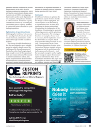 Offshore Engineer Magazine, page 41,  Mar 2015
