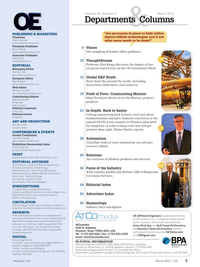 Offshore Engineer Magazine, page 3,  Mar 2015