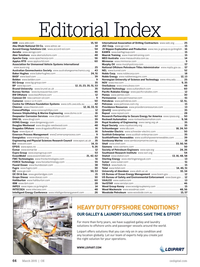 Offshore Engineer Magazine, page 62,  Mar 2015