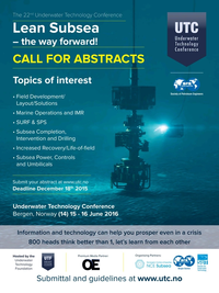 Offshore Engineer Magazine, page 18,  Jan 2016