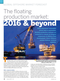 Offshore Engineer Magazine, page 26,  Jan 2016