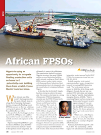Offshore Engineer Magazine, page 36,  Jan 2016