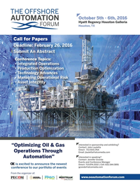 Offshore Engineer Magazine, page 55,  Jan 2016