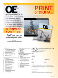 Offshore Engineer Magazine, page 4,  Jan 2016