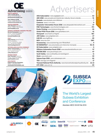 Offshore Engineer Magazine, page 63,  Jan 2016
