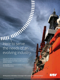 Offshore Engineer Magazine, page 4th Cover,  Jan 2016