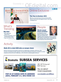 Offshore Engineer Magazine, page 5,  Jan 2016
