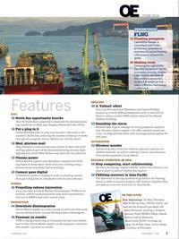 Offshore Engineer Magazine, page 1,  Jun 2016