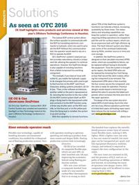 Offshore Engineer Magazine, page 58,  Jun 2016