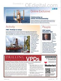 Offshore Engineer Magazine, page 5,  Jun 2016
