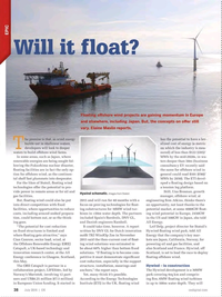 Offshore Engineer Magazine, page 36,  Jul 2016