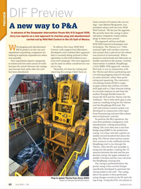 Offshore Engineer Magazine, page 60,  Jul 2016