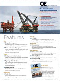 Offshore Engineer Magazine, page 1,  Dec 2016