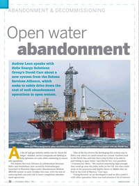 Offshore Engineer Magazine, page 30,  Dec 2016