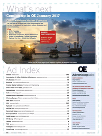 Offshore Engineer Magazine, page 64,  Dec 2016
