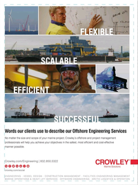 Offshore Engineer Magazine, page 3rd Cover,  Dec 2016