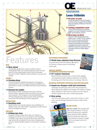 Offshore Engineer Magazine, page 1,  Feb 2017