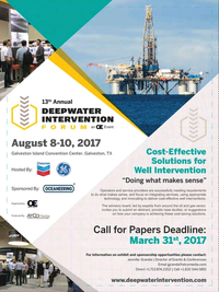 Offshore Engineer Magazine, page 34,  Feb 2017