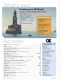 Offshore Engineer Magazine, page 64,  Feb 2017