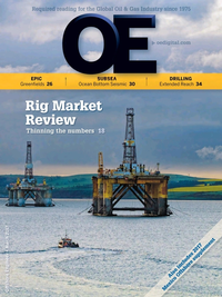 Offshore Engineer Magazine Cover Mar 2017 -