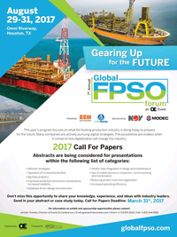 Offshore Engineer Magazine, page 19,  Mar 2017
