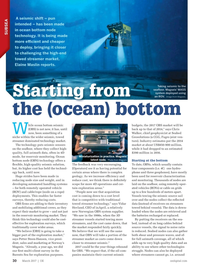 Offshore Engineer Magazine, page 28,  Mar 2017