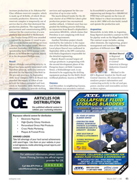 Offshore Engineer Magazine, page 57,  Mar 2017