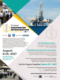 Offshore Engineer Magazine, page 4,  Mar 2017