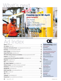 Offshore Engineer Magazine, page 62,  Mar 2017