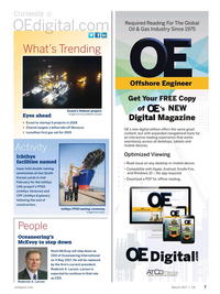 Offshore Engineer Magazine, page 5,  Mar 2017