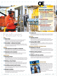 Offshore Engineer Magazine, page 1,  Apr 2017