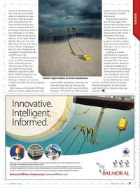 Offshore Engineer Magazine, page 35,  Apr 2017