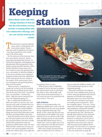Offshore Engineer Magazine, page 36,  Apr 2017