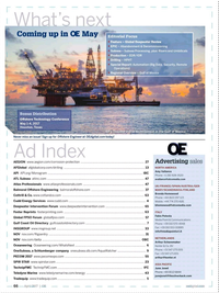 Offshore Engineer Magazine, page 64,  Apr 2017