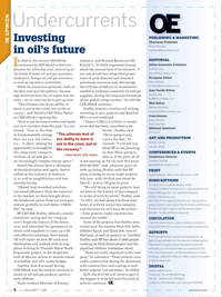Offshore Engineer Magazine, page 6,  Apr 2017