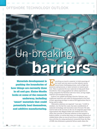 Offshore Engineer Magazine, page 26,  Jun 2017